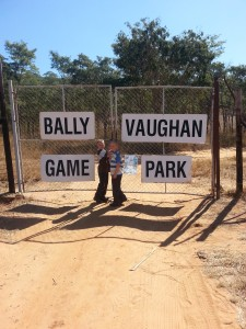 Entrance to Bally Vaughan and Mwanga Lodge